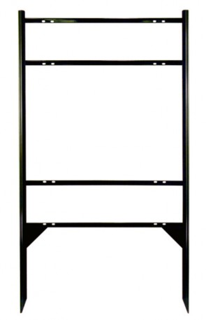 Real Estate Frame - DuraFrame Xtreme+ w/ Top & Bottom Rider Slots