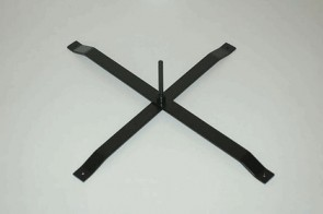 FEATHER FLAG - STAND (N) - Cross Base for Hook/Teardrop